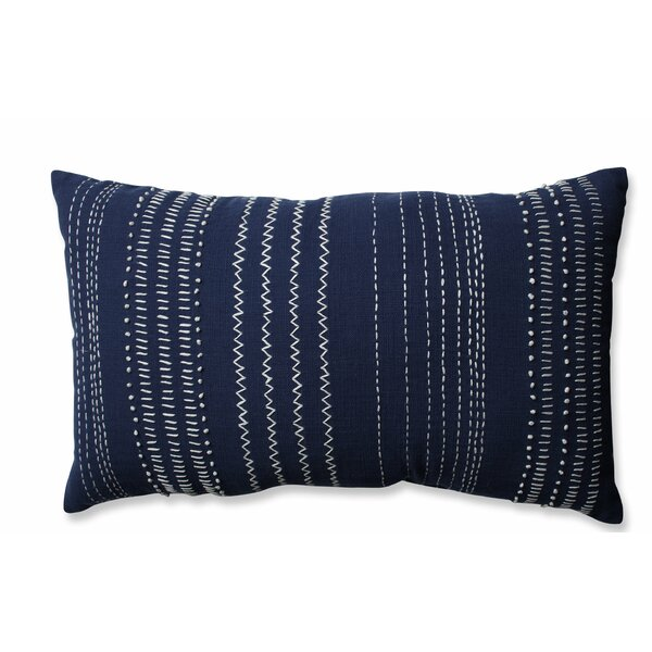 Tribal Stitches 100% Cotton Lumbar Pillow by Pillow Perfect| @ $48.99